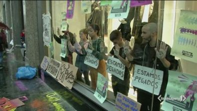 Greta marcia per il clima a Madrid