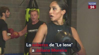 """Lo scherzo de """"Le Iene"""" a Juliana Moreira"""