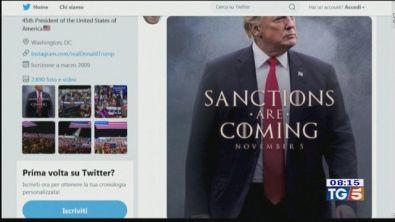 Le sanzioni di Trump all'Iran