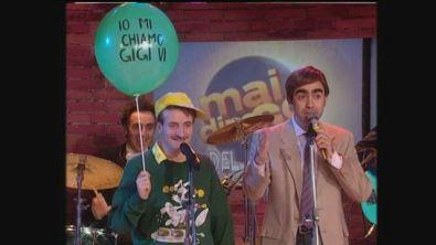 """Elio canta """"Sei forte papà"""" con il Bimbo Gigi a Mai dire Gol"""