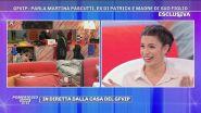 """Martina Pascutti: """"Patrick al GFVIP..."""""""