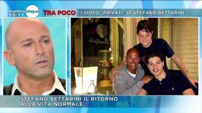 Stefano Bettarini, l'incontro con i figli