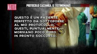 Protocollo Cazzaniga, le testimonianze