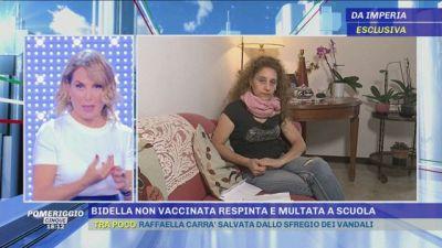 Bidella non vaccinata respinta e multata a scuola