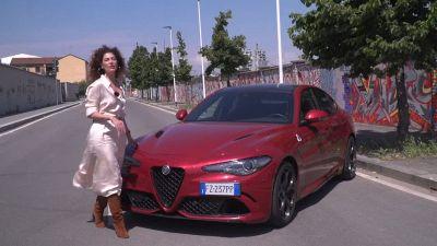 Prova su strada della nuova Alfa Romeo Giulia Quadrifoglio