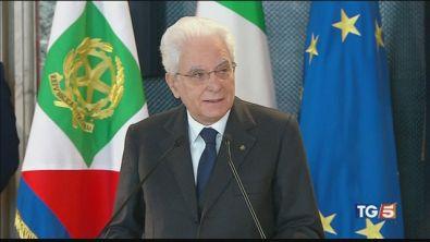 Mattarella: su foibe no al negazionismo