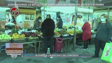 Coronavirus: la situazione sanitaria nei mercati coperti di Roma