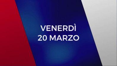 Stasera in Tv sulle reti Mediaset, 20 marzo