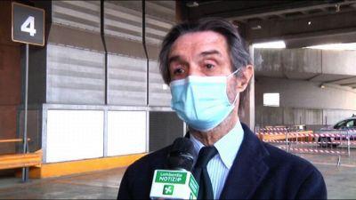 Lombardia, Fontana: campagna vaccinale massiva parte 13-14 aprile