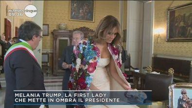 La first lady che mette in ombra il presidente