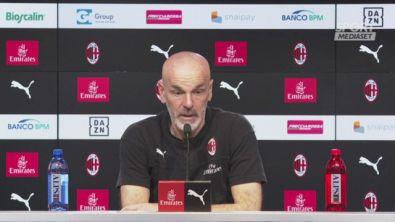"Pioli: ""Il Milan sta bene"""