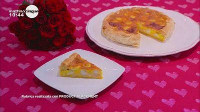 Delizia con uova di quaglia e formaggio