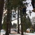 Parco Avventura Stella Alpina percorso sospeso