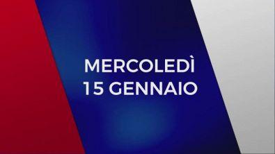 Stasera in Tv sulle reti Mediaset, 15 gennaio