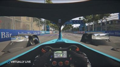 Formula E, giro di pista a Parigi
