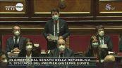Senato: il discorso di Giuseppe Conte