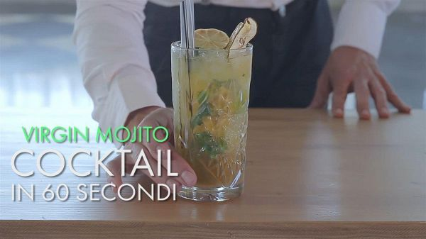 Cocktail in 60 secondi: Virgin mojito