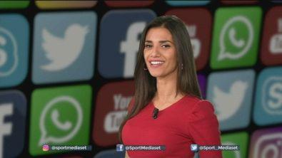 SocialSportmediaset: il solito Ibra e un insolito Sensi