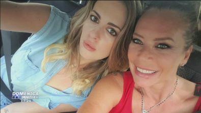 Barbara De rossi e la figlia Martina