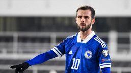 Miralem Pjanic, il centrocampista bosniaco
