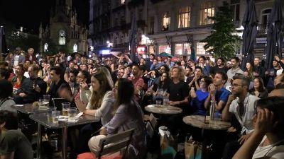 Europei, italiani in festa a Bruxelles