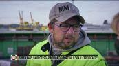 """Green pass, la protesta pacifica dei portuali: """"Via il certificato"""""""