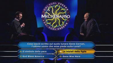 Enrico Remigio conferma la sua risposta alla domanda da 1 milione di euro!