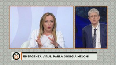 Emergenza virus, parla Giorgia Meloni