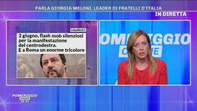 Giorgia Meloni, le proteste del 2 giugno