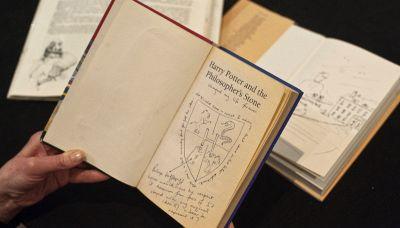 Se avete questo libro di Harry Potter potreste guadagnare una fortuna