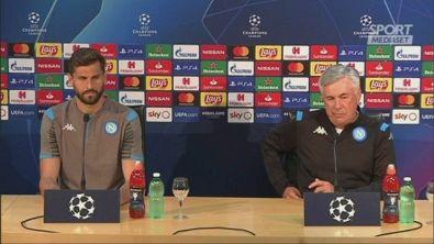 """Ancelotti: """"Napoli non è una città pericolosa"""""""