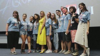 Serena Autieri in masterclass: l'energia del Giffoni film Festival è unica