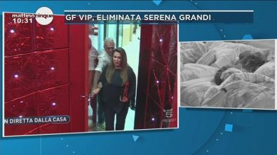 GF Vip 2: l'eliminazione di Serena