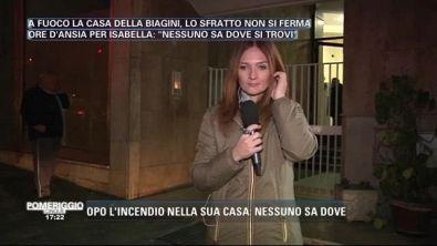 Isabella Biagini ricoverata in clinica...