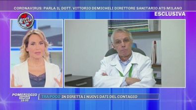 Coronavirus, parla il dott. Vittorio Demicheli direttore sanitario Ats Milano