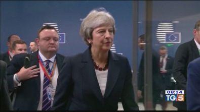 Scontro sulla Brexit in parlamento