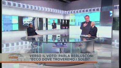 """Berlusconi: """"ecco dove troveremo i fondi"""""""