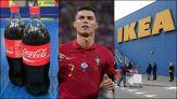 """Ronaldo Vs Coca Cola, Ikea crea la bottiglia d'acqua """"Cristiano"""""""
