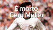 E' morto Gerd Muller, il piu' grande centravanti tedesco della storia
