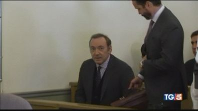Spacey a processo