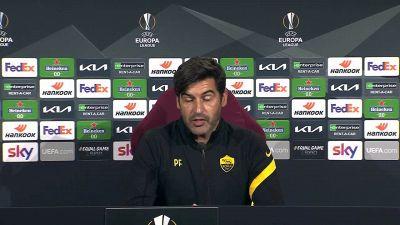 """Roma-Ajax, Fonseca: """"E' la partita più importante della stagione"""""""