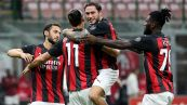 La rosa del Milan 2020/2021