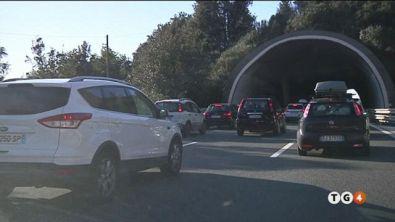 Caos traffico in Liguria