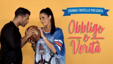 """Valentina Vignali e Michael Terlizzi si sfidano a basket a """"Obbligo o Verità"""""""