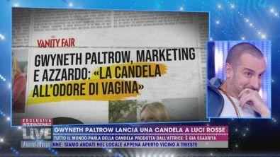 Gwyneth Paltrow lancia una candela che ha il profumo della sua vagina