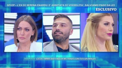 Grande Fratello VIP, Giovanni Conversano contro Serena Enardu