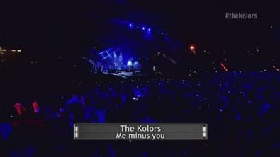 Me minus you - Live in Expo - The Kolors