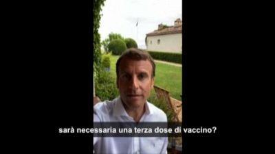 Instagram e TikTok, nuova strategia social di Macron sui vaccini