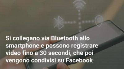 Come sono gli occhiali smart di Facebook