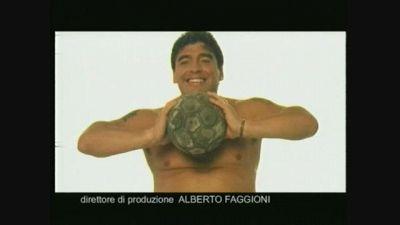 Quando Diego Armando Maradona si fece fotografare da Piero Chiambretti